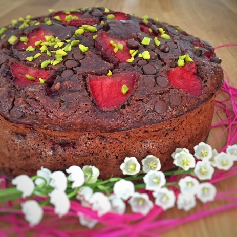 Moelleux choco-fraises