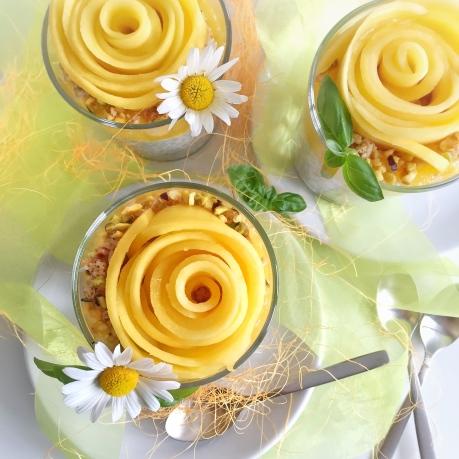 Chia Pudding coco-mangue