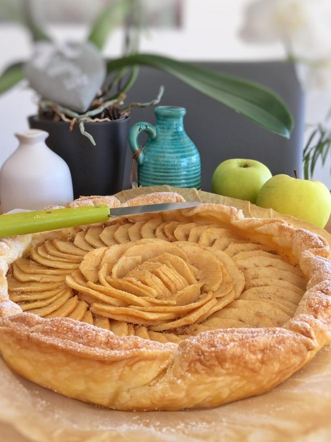 """Tarte aux pommes façon """"Amandine"""""""