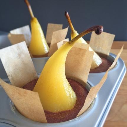 Muffins choco - poire
