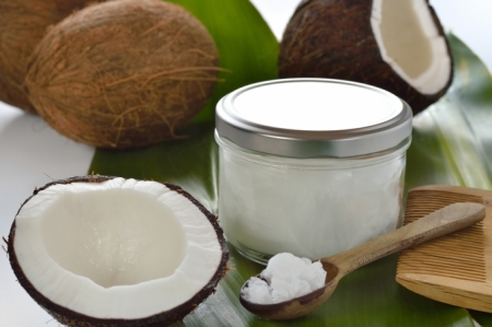 Coconuts and organic coconut oil